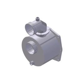 "CARACOL INOX 3"" (p/ motor BRANCO modelo B4T-706)"