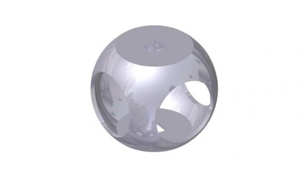 94 MM STAINLESS STEEL BALL
