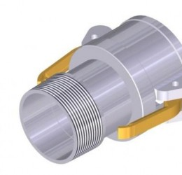 "3"" FEMALE/OUTSIDE-THREAD COUPLER"