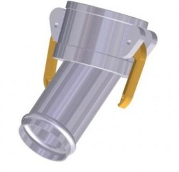45º FEMALE/HOSE COUPLER