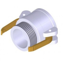 ALUMINUM FEMALE/OUTSIDE-THREAD COUPLERS (BSP)