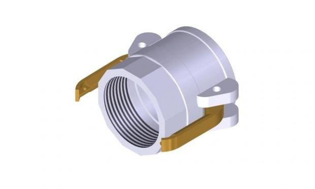 ALUMINUM FEMALE/INSIDE-THREAD COUPLERS (BSP)
