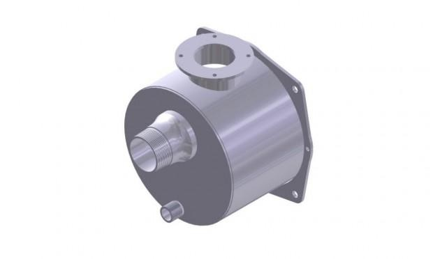 """PUMP BODY WITH 2"""" THREAD INLET"""