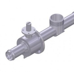 "1 1/2"" FLOW VALVE, WITH ""V"" BALL"