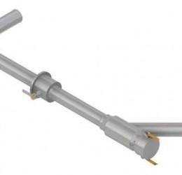 PUMP-VALVE PIPE W/ FLOWMETER STRAINER (AT 802)