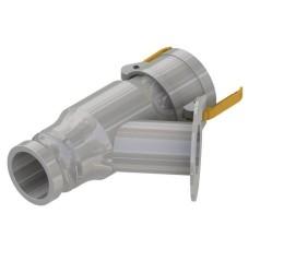 50x170mm Flowmeter Line Strainer