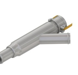 50x340mm Flowmeter Line Strainer