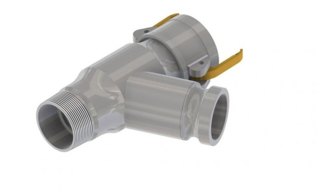 50x170mm Line Strainer