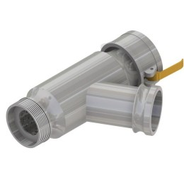 70x283mm Line Strainer