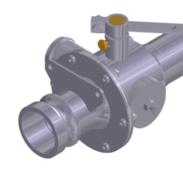 SPRAY CONTROL VALVE W CONVENTIONAL SHAFT (AT402 AND AT502)