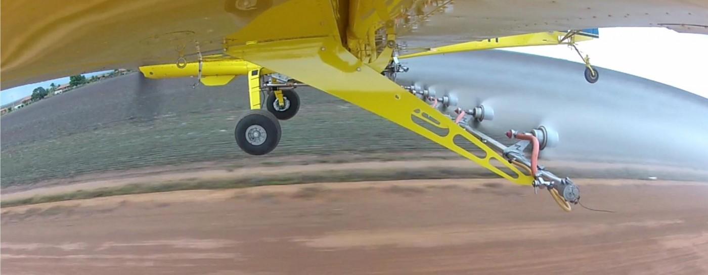 Tecnologias com padrão de excelência para aplicação aérea.