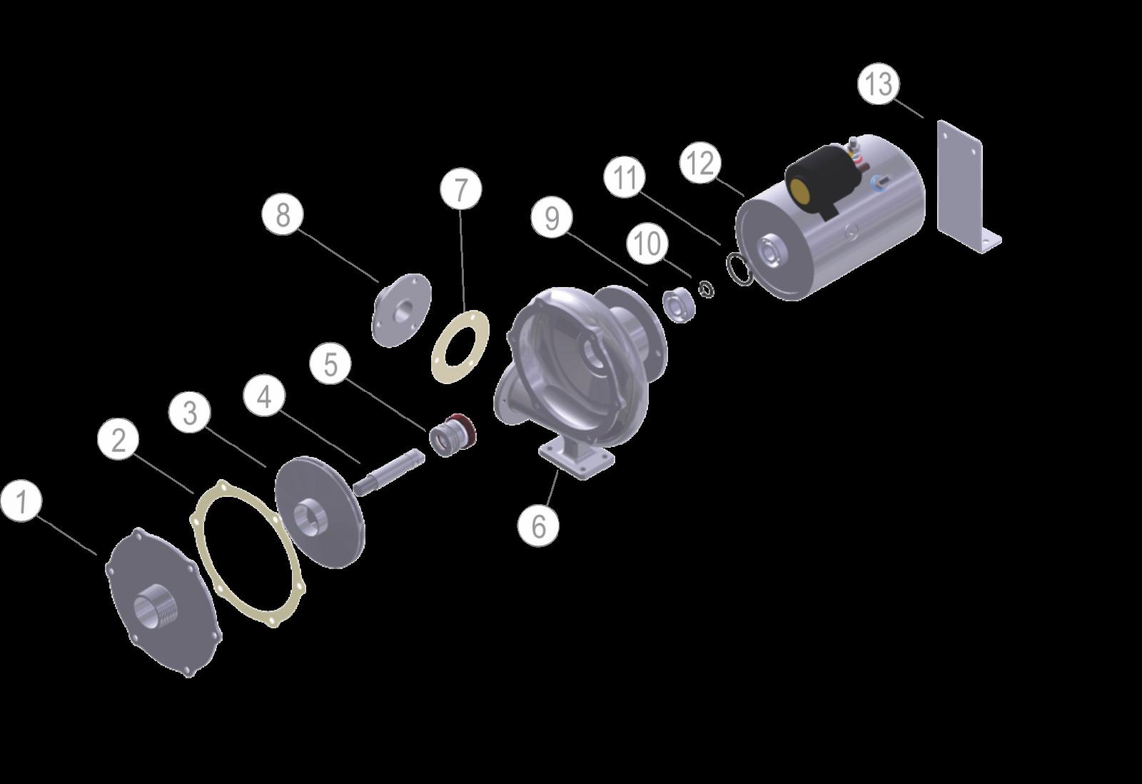 12V/24V CENTRIFUGAL PUMP (120L/MIN)