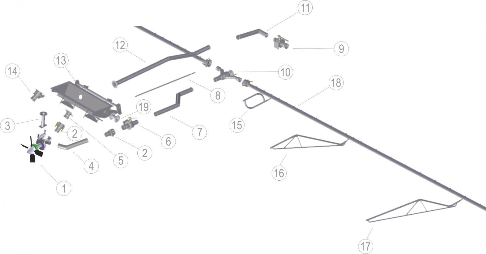 CESSNA 188 SPRAY SYSTEM