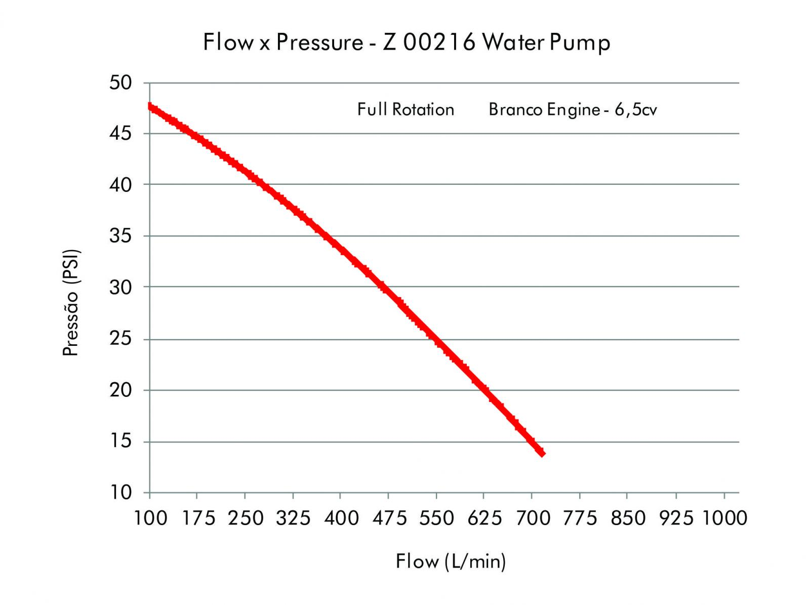 """2"""" STAINLESS STEEL WATER PUMP (WITH BRANCO ENGINE B4T 6,5CV)"""