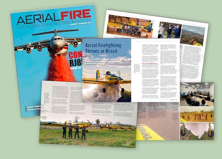 Trabalho de parceiros da Zanoni é destaque na Aerial Fire Magazine