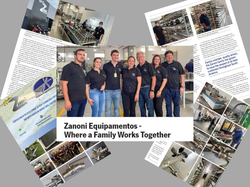 AgAir Update article tells the story of Zanoni Equipamentos